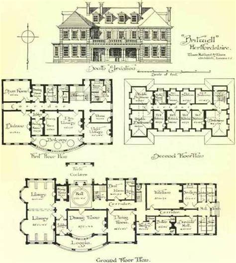 large country house plans 1000 images about dh44 on floor plans