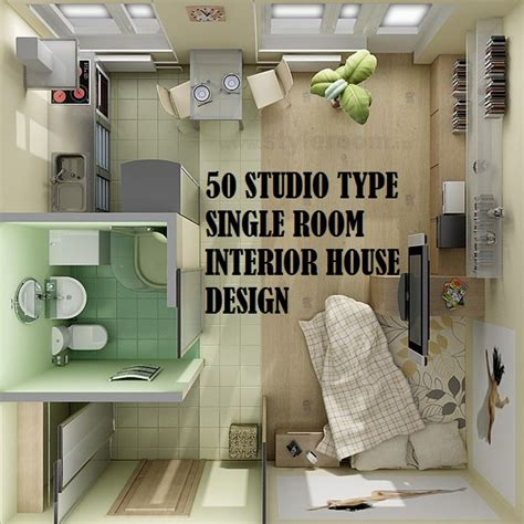 Decorate A Studio Apartment 50 studio type single room house lay out and interior design