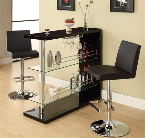 Bar Table Dining Set Black Bar Table Set Dining