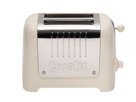 Dualit Tostapane by Canvas White Dualit 2 Slice Lite Toaster