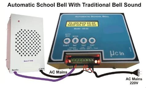 Sound System Bell Up automatic school bell system automatic bell school