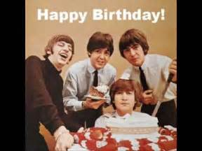 the beatles happy birthday to you youtube