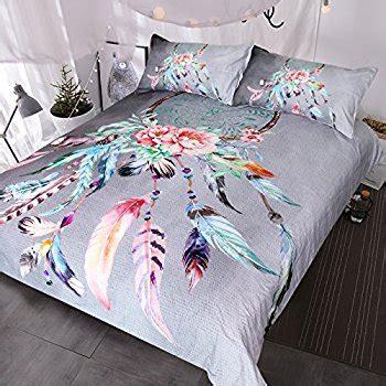 dreamcatcher bedding amazon com sleepwish hippy feather dream catcher bedding set india ethnic