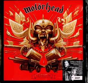 motorhead best of motorhead the best of 3 lp boxset heavy metal