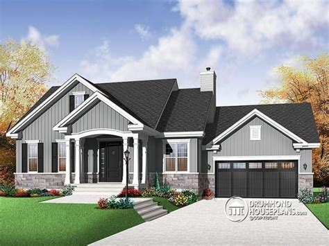 Luxury Mountain House Plans Craftsman Craftsman Home Plans Executive Bungalow House Plans