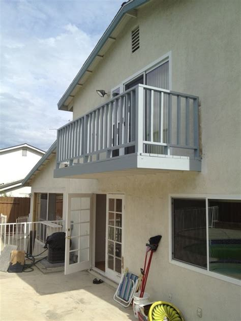 home design kitchen upstairs upstairs balcony los angeles by palatin remodeling