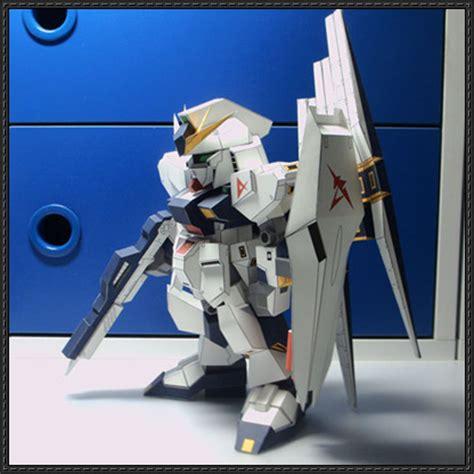 Sd Gundam Rx 93 Hi V Recoulor Papercraft papercraftsquare new paper craft sd rx 93 ν gundam free papercraft