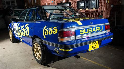 Subaru Rally Cars For Sale by You Can Own This 1993 Subaru Legacy Rs Driven By Richard Burns