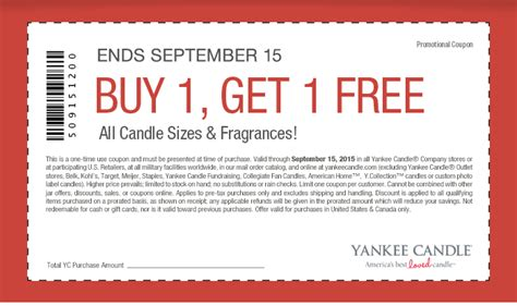 yankee candle printable coupons jan 2015 yankee candle printable coupons promo codes