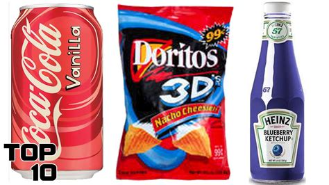 different colored ketchup top 10 discontinued food items we miss part 6