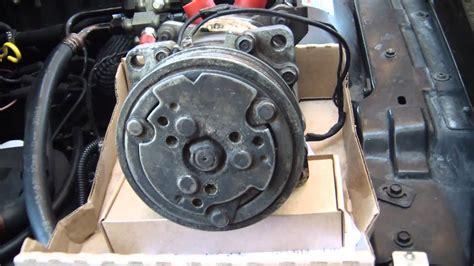 diy auto intermittant ac compressor clutch diagnosis