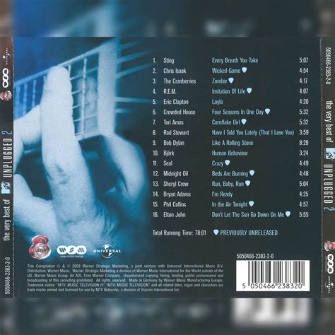 mtv unplugged best of the best of mtv unplugged 2 mp3 buy tracklist