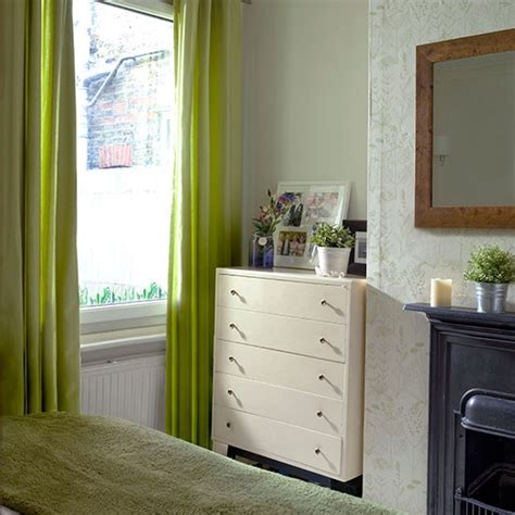 lime green curtains for bedroom traditional bedroom with green curtains bedroom