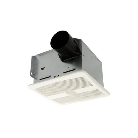 Bathroom Exhaust Fans Motion Sensor Hushtone By Cyclone 110 Cfm Ceiling Bathroom Exhaust Fan