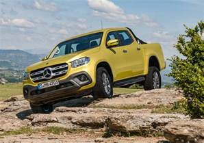 Mercedes And Mercedes Mercedes X Class Ute Unveiled 190kw V6 Flagship