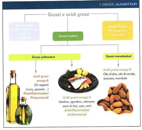 grassi alimenti grassi alimentari insaturi