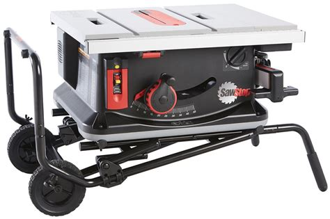 saw stop table saw sawstop jobsite table saw 10 inch