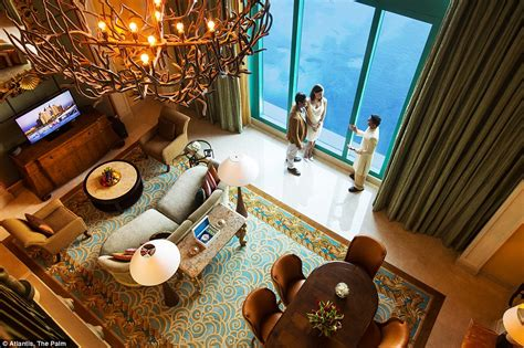 atlantis bahamas underwater rooms inside dubai s underwater suites that come with views into an aquarium daily mail