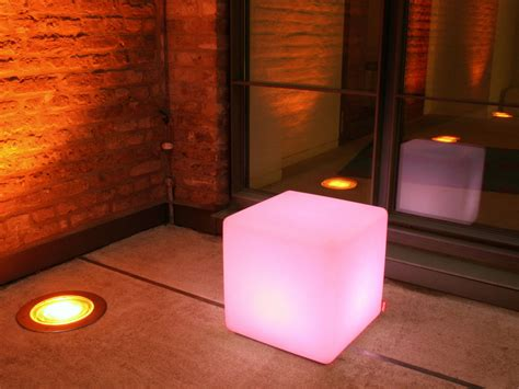 cube outdoor led light garden accessories moree