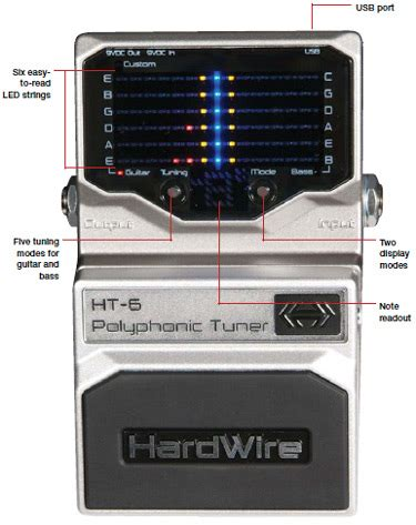 bad tuner hardwire ht6 tuner pedal not working did i get a bad