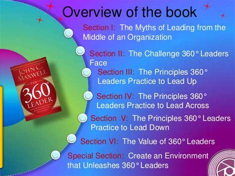 Buku The 21 Irrefutable Laws Of Leadership Tested By Ti Diskon resensi buku the 360 degree leader