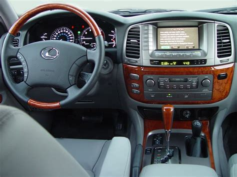 lexus suv 2003 interior lexus lx470 reviews research used models motor trend
