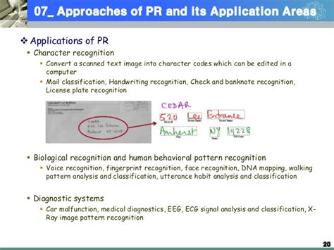 pattern recognition approaches 2013 1 machine learning lecture 01 pattern recognition