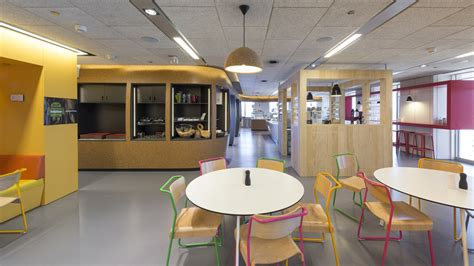 office canteen design google s madrid headquarters by jump studios australian