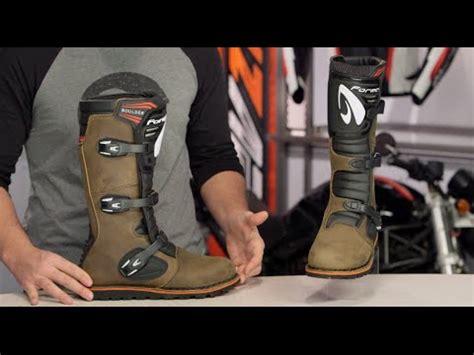 boulder boats reviews forma boulder boots review at revzilla youtube