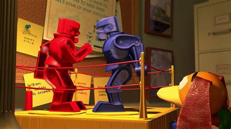 Robot Woody Story rock em sock em robots personnages dans story 2