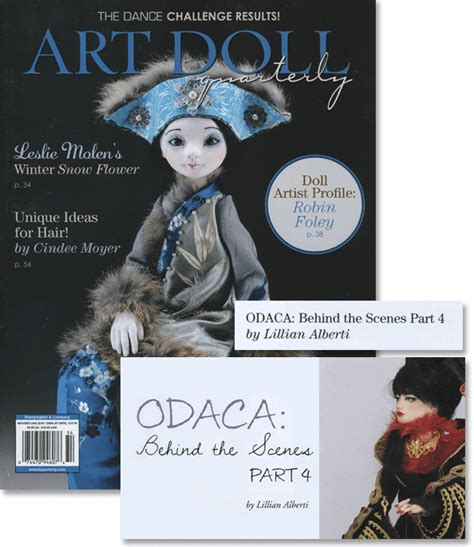 doll quarterly fall 2015 media a li l whimsy by lillian alberti