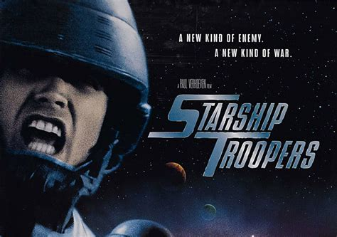 Starship Troopers Original producer of starship troopers remake says new will be less more