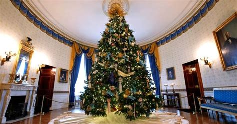 does obama deserve 54 white house christmas trees and a