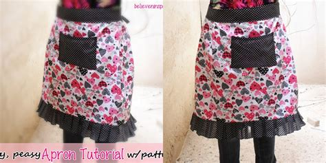 youtube apron pattern apron tutorial with free pattern