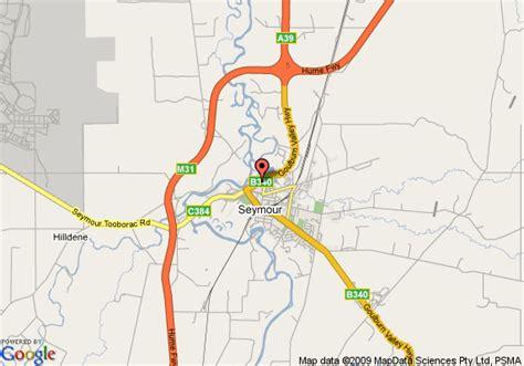 comfort inn seymour map of comfort inn coach and bushmans seymour