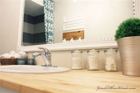 framing a builder grade bathroom mirror how to frame out that builder s grade mirror the easy