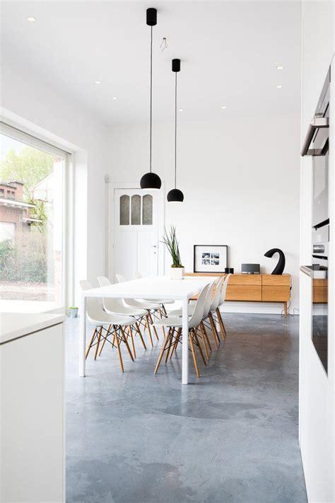 open plan flooring ideas 25 best ideas about polished concrete flooring on