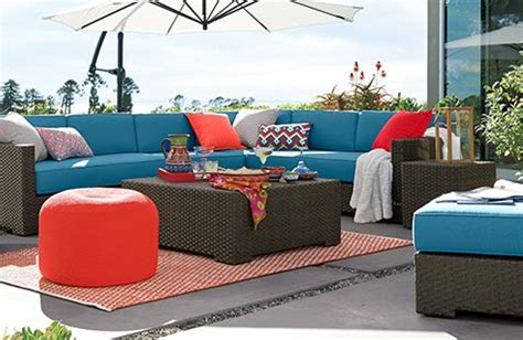 Patio Sets And Outdoor Furniture Collections Crate And Crate And Barrel Outdoor Furniture