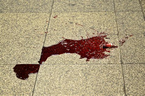 blood on the floor flickr photo