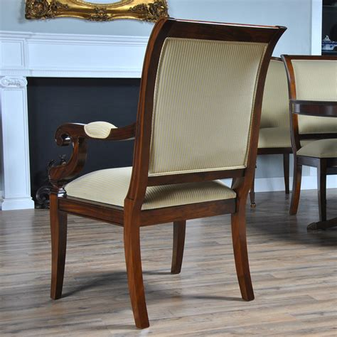 regency upholstered chairs set of 10 niagara furniture regency upholstered dining chair ndrac056