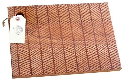 pattern wood cutting board solid wood herringbone pattern cutting board cherry 13