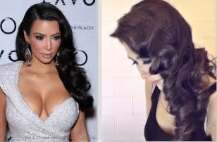 how to do pin curls on black s hair kim kardashian hair tutorial curly vintage hairstyles