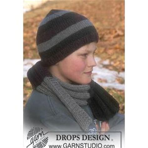 knitting pattern scarf boy boys scarf knitting pattern in drops