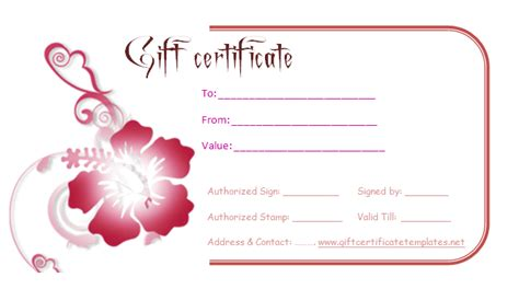 best photos of find gift certificates templates gift