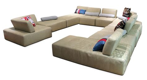 modern beige leather sectional sofa 527 modern beige italian leather sectional sofa