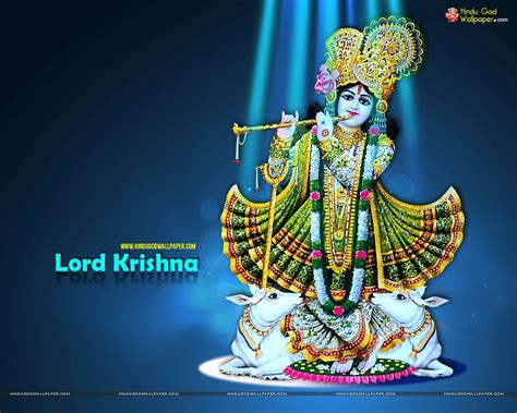 god themes wallpaper download hindu god wallpapers lord krishna with cow wallpapers