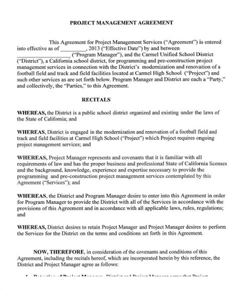 master services agreement gallery agreement example ideas