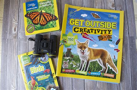 Nationals Giveaways - explore the outdoors with national geographic kids