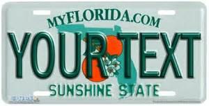 Florida Vanity License Plate 550 quot florida state license plate quot vanity license plate