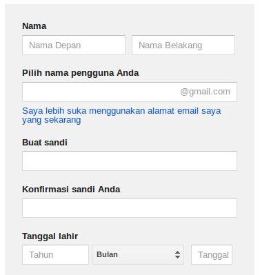membuat akun google untuk android cara membuat akun google untuk android nulis ilmu com